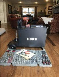Features and Benefits of theKlutch Compact Locking Welding Cabinet