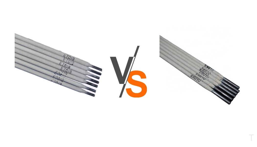 What is the difference between the 7018 and 6010 welding rods?